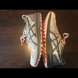 Pink and Gray ASICS (8.5)